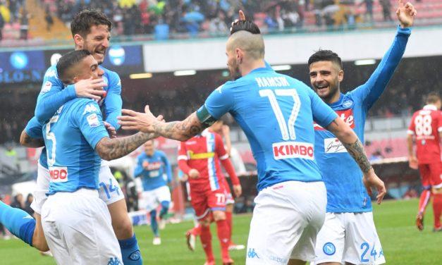Napoli-Spal 1-0, decide Allan. Altro che contraccolpo psicologico