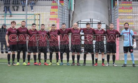 Di Meo fa sognare il Baiano: 2-1 all'Abellinum e granata in zona Play Off