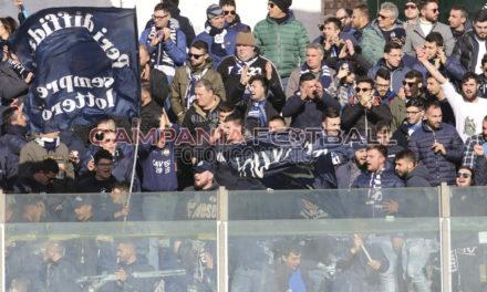 FOTO | Serie D girone H, Sarnese-Cavese 3-4: lo spettacolo sugli spalti