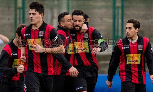 BUCCINO VOLCEI-CAMPAGNA 5-0: manita rossonera firmata D'Orilia, Barra e Castagna