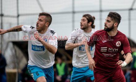Ancora un pari per l'Ebolitana, finisce 0-0 con il Messina