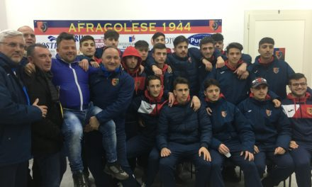 JUNIORES | L'Afragolese è campione del Girone C