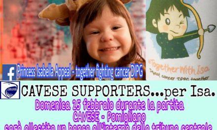 Picerno-Cavese, gara della solidarietà per la piccola Isabella
