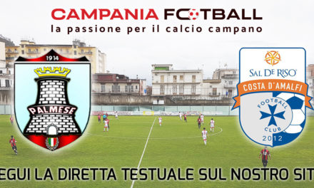 VIDEO | Eccellenza Gir. B, Palmese-Costa d'Amalfi 2-1: guarda i gol