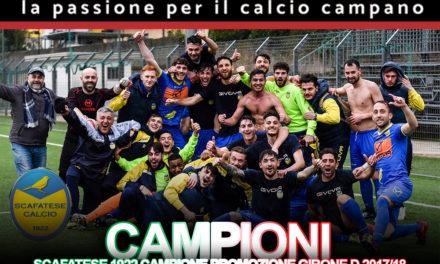 Benvenuta a sua Eccellenza Scafatese: il canarino batte il Salernum Baronissi e torna nel massimo campionato regionale dopo due anni