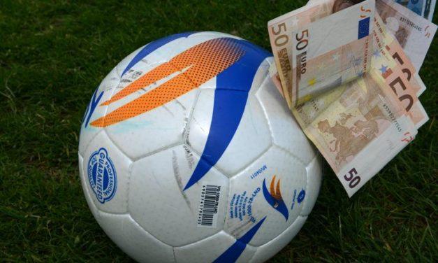 Vertenze dei calciatori: condanna di 40 mila euro per la Nocerina