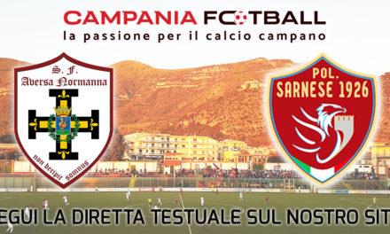 LIVE | Serie D Girone H: Aversa Normanna – Sarnese