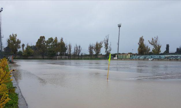 ECCELLENZA/B. Tra Faiano ed Eclanese vince la pioggia. Gara rinviata a Pontecagnano