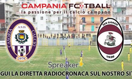 VIDEO | Eccellenza, Casoria-San Giorgio 3-3: le azioni del match