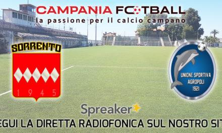 ASCOLTA LA RADIOCRONACA | Sorrento-Agropoli: penultima giornata di campionato Eccellenza