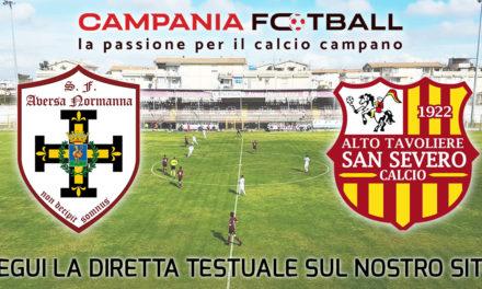 LIVE | Serie D Girone H: Aversa Normanna-San Severo