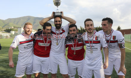 Prodezza De Marco: la Sanmaurese vince la Coppa Campania Prima Categoria