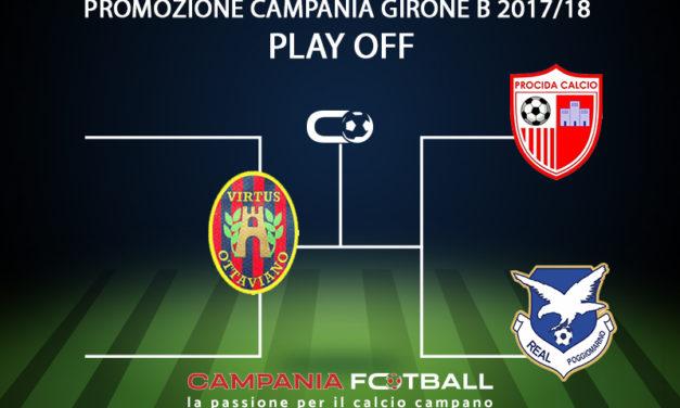 Promozione Girone B 2017/18 | Tutti i verdetti: promozioni, retrocessioni, play off e play out