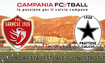 LIVE | Serie D Girone H: Sarnese – Frattese