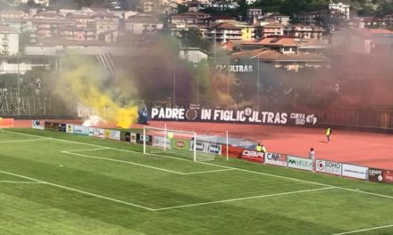Vibonese-Cavese: via libera ai tifosi aquilotti
