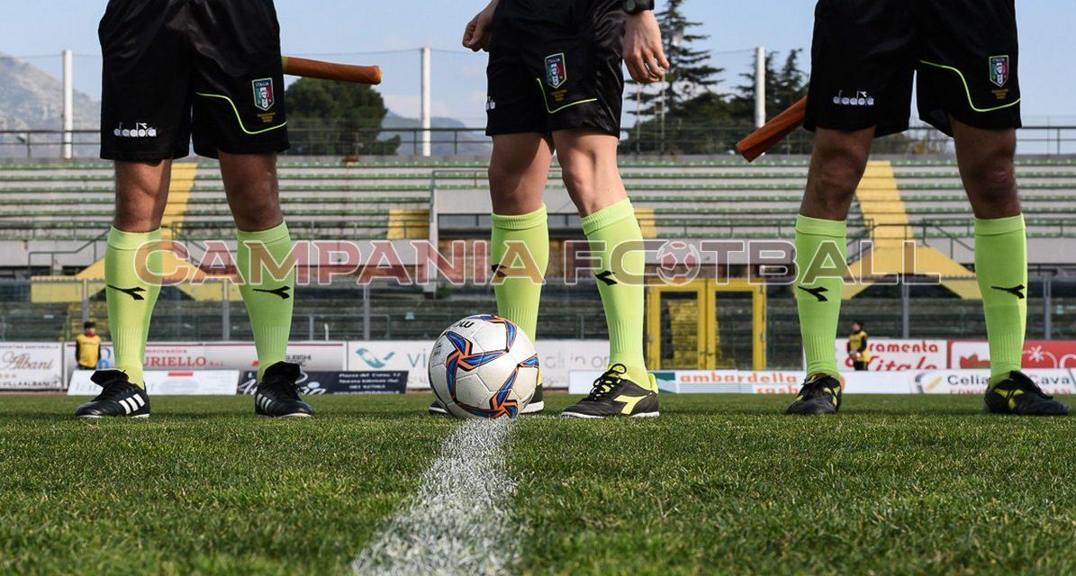 Play-off Serie D ed Eccellenza, ecco gli arbitri designati per le squadre campane