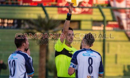 Eccellenza Girone A, le decisioni del Giudice Sportivo: stangata per Ambrosino, due giornate per due calciatori