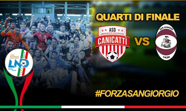 Juniores San Giorgio, c'è il Canicattì nei quarti di finale
