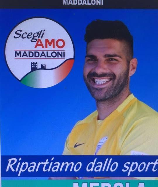 Maddalonese: il capitano Merola si candida per le elezioni comunali