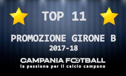 Promozione Girone B: la Top 11 stagionale di Campania Football
