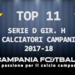 Serie D Girone H: la Top 11 stagionale dei calciatori e allenatore campani