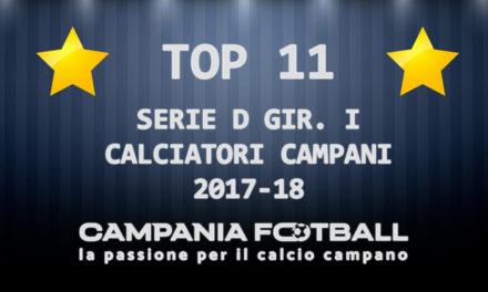 Serie D Girone I: la nostra Top 11 stagionale