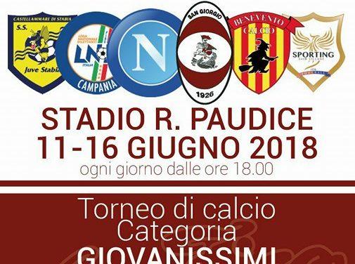 """San Giorgio, al via l'11 Giugno il """"1° Memorial Giovanni Attanasio"""""""