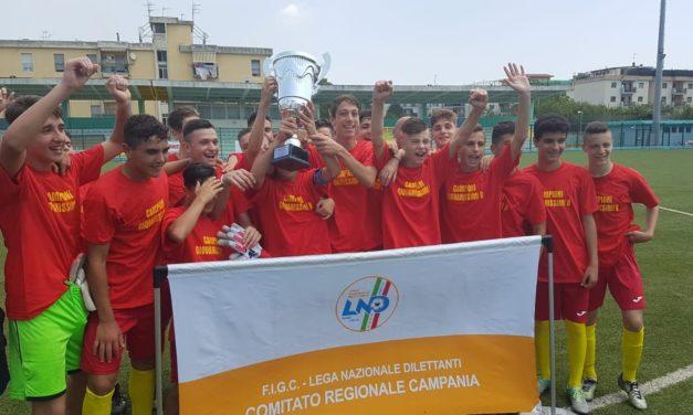 Finale Regionale Giovanissimi Fascia B, l'S.S.C. Capua trionfa 3-0 sulla Real Casarea