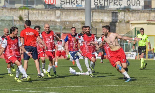 Guarracino gol e la Turris torna con un punto dalla Calabria