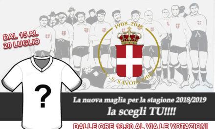 """""""La maglia la scegli tu"""", il contest del Savoia per la divisa 2017/18"""