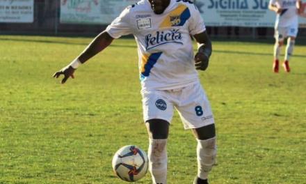 UFFICIALE | Serie D, Gravina: il forte centrocampista Mbida rinnova per un'altra stagione