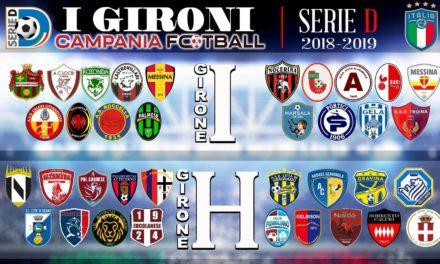 UFFICIALE | Serie D, ecco i gironi G, H ed I 2018/19