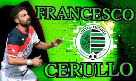 UFFICIALE | Francesco Cerullo è un nuovo calciatore della Virtus Liburia