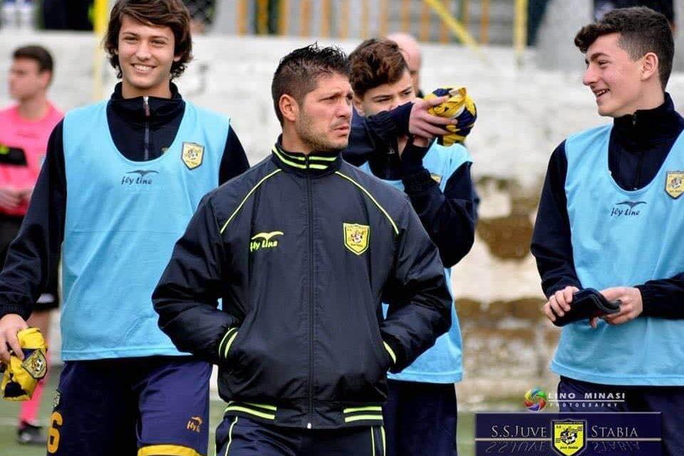 Sacco pronto a ripartire con la Juve Stabia: stavolta guiderà i ragazzi dell'Under 16 Serie A e B