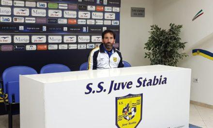 Juve Stabia-Potenza, le parole di Caserta nel post gara