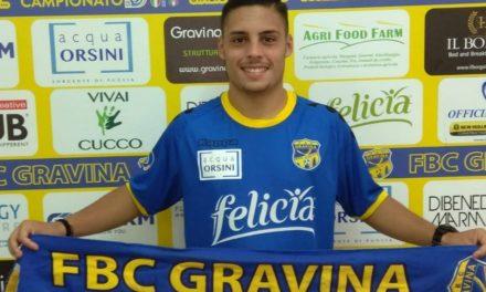 Serie D, Gravina: ufficiale l'arrivo di un attaccante campano