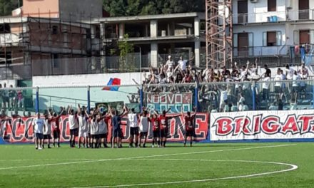 Eccellenza, Castel San Giorgio: esordio vittorioso per i rossoblu con mister Franza