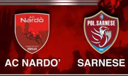 Serie D, Nardò – Sarnese 0-0: arriva il primo punto in campionato per i campani