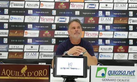 """Modica vuole il riscatto: """"Dobbiamo farci perdonare Siracusa. Juve Stabia, squadra di qualità"""""""
