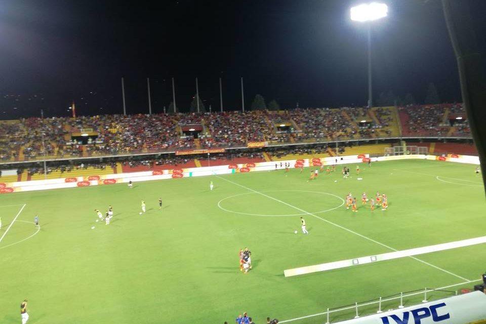 """Spettacolo amaro al """"Vigorito""""  tra Benevento e Monza. Streghe battute per 3-4"""