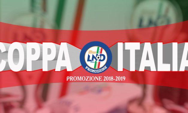 Coppa Italia Promozione, risultati andata e ritorno trentaduesimi e abbinamenti sedicesimi di finale