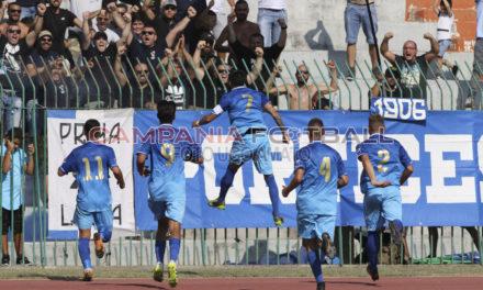 Il Portici torna a sorride, 2-0 all'Acireale
