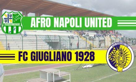 Afro Napoli United-Giugliano, il confronto tra le due corazzate
