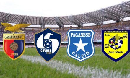 IL PUNTO| Serie C, nona giornata: Juve Stabia e Cavese da big, da migliorare per Casertana e Paganese