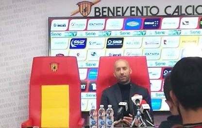 """Benevento-Livorno 1-0, Bucchi: """"Il Livorno ci ha messo in difficoltà però l'importante era fare risultato"""""""