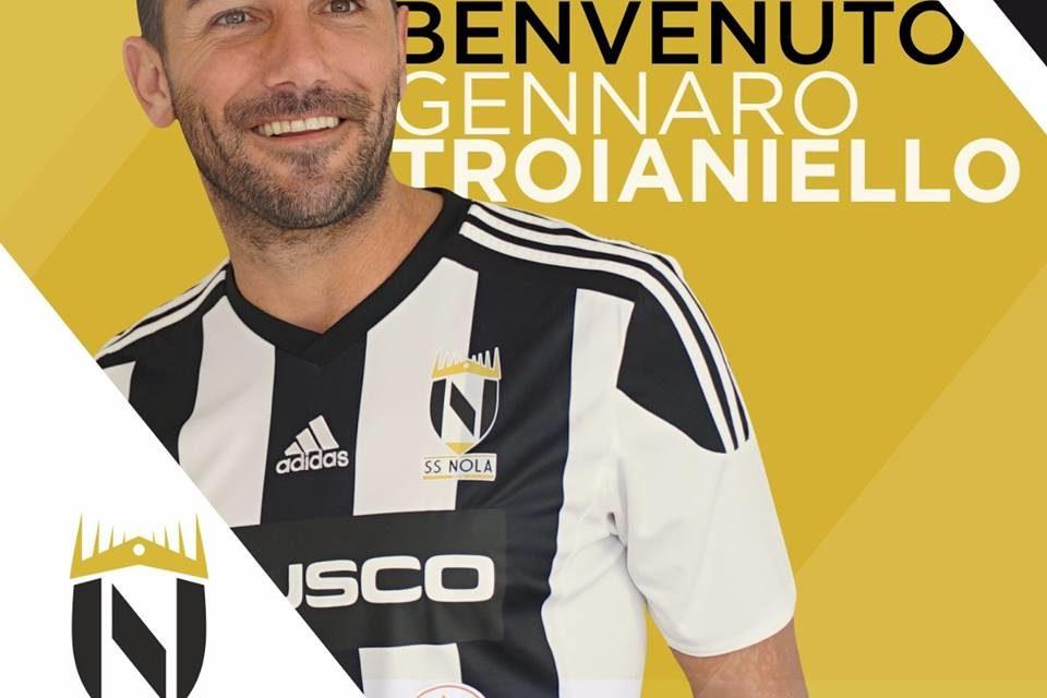 Serie D, un Nola d'esperienza: firma anche l'attaccante Troianiello