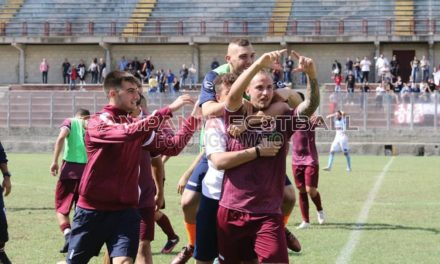 Puteolana-Albanova uno spot per il calcio: emozioni senza fine, Liccardi salva i diavoli rossi al 96′