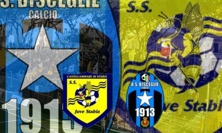 JUVE STABIA-BISCEGLIE: a Castellammare è caccia alla seconda vittoria in questo particolare confronto