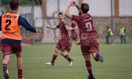 La Sarnese vince a Pomigliano: giocherà il playout in casa