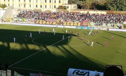 Serie C, Casertana occasione sprecata: è pari col Trapani!